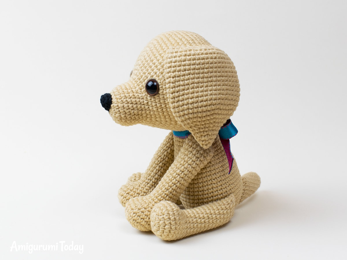 Amigurumi Lucky Puppy - Crochet pattern by Amigurumi Today
