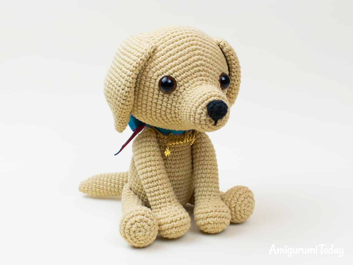 Amigurumi Lucky Puppy - Free crochet pattern by Amigurumi Today