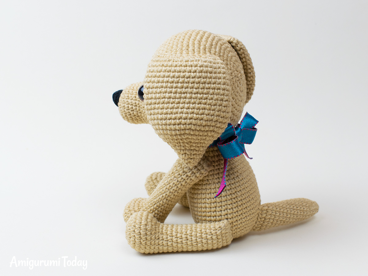 Crochet Lucky Puppy amigurumi pattern by Amigurumi Today