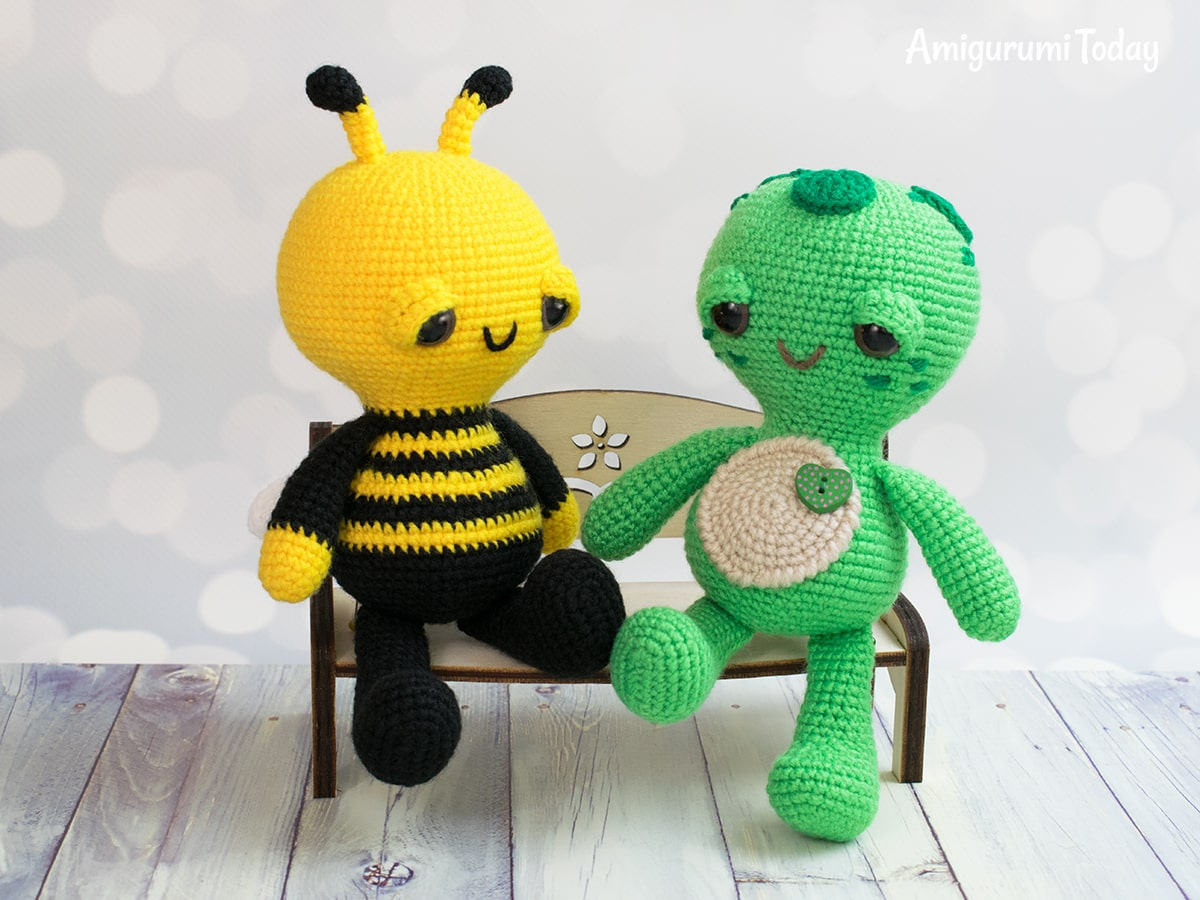 Dreamy Bee - Free crochet pattern by Amigurumi Today