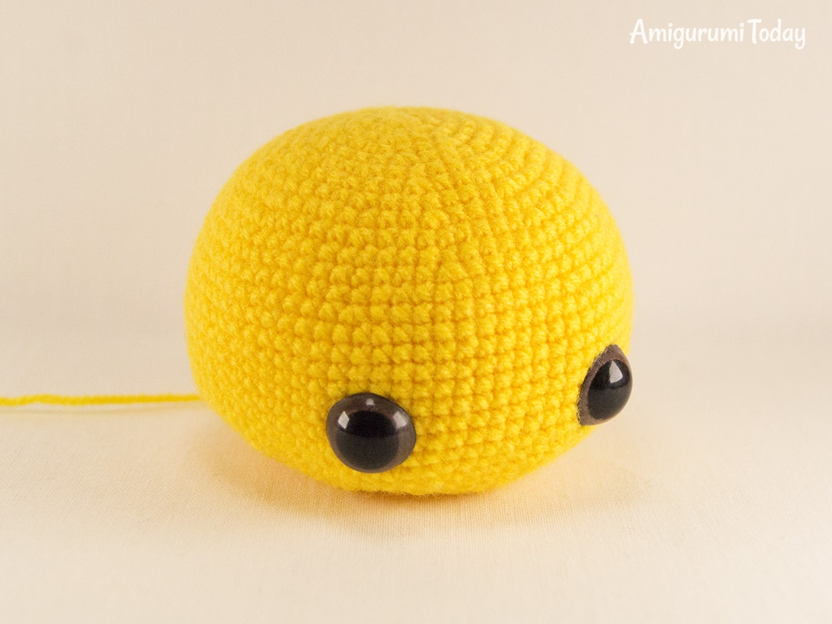Dreamy Bee amigurumi pattern - Head