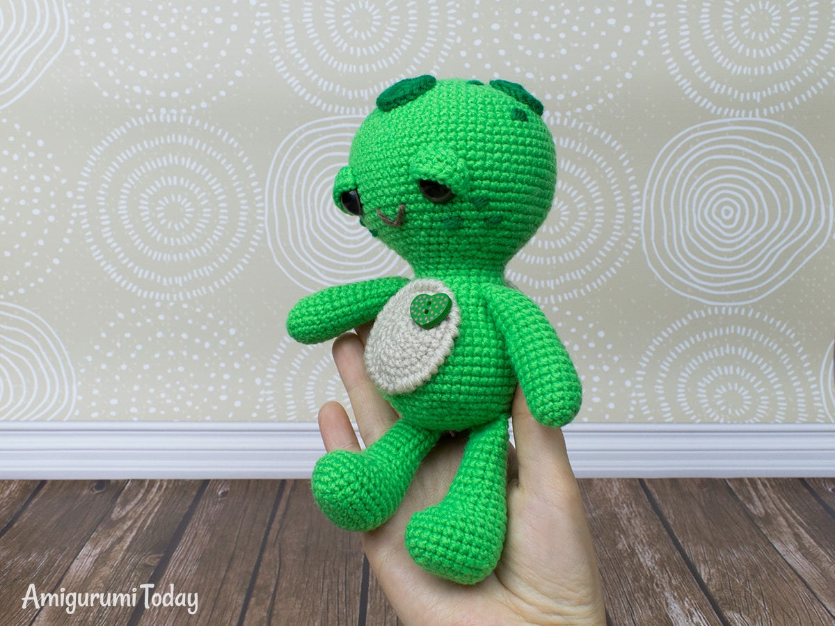 Free Dreamy Turtle pattern yesteryear Amigurumi Today Soft  Dreamy Turtle amigurumi pattern