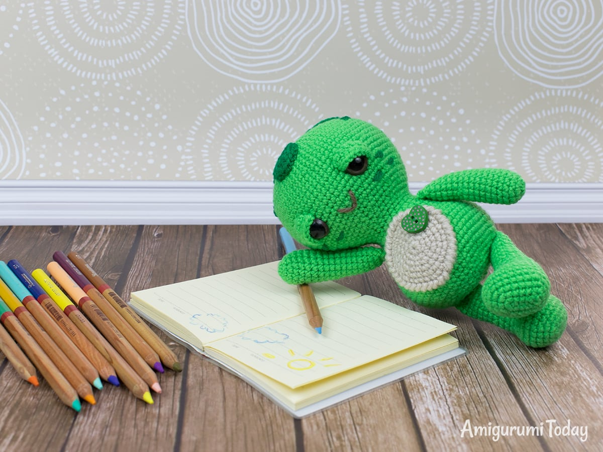 Dreamy Turtle amigurumi pattern