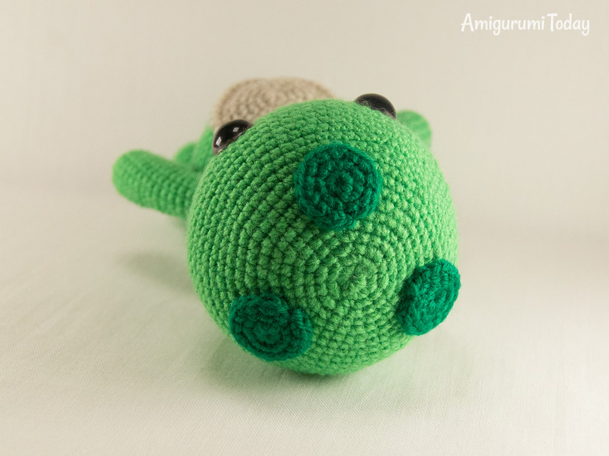 Dreamy Turtle crochet pattern - Assembly