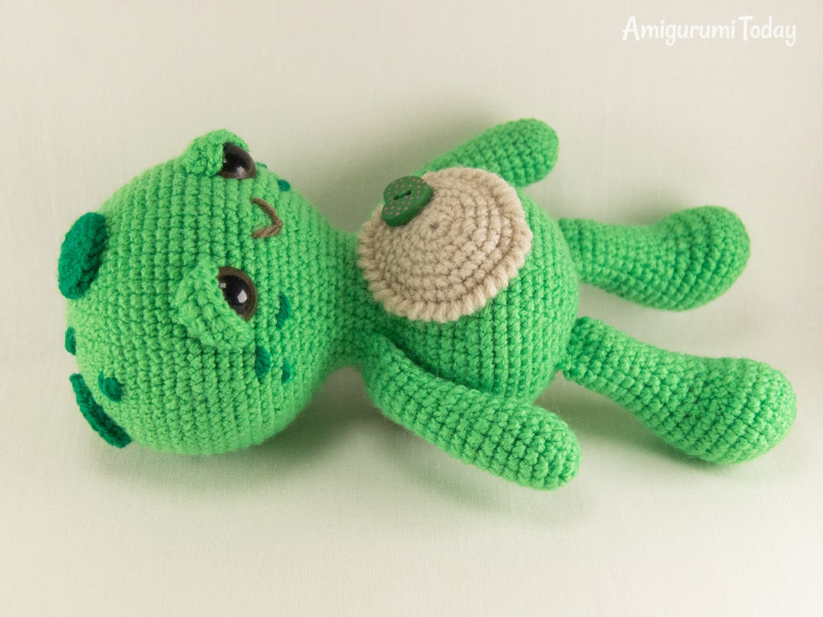 Dreamy Turtle crochet pattern by Amigurumi Today