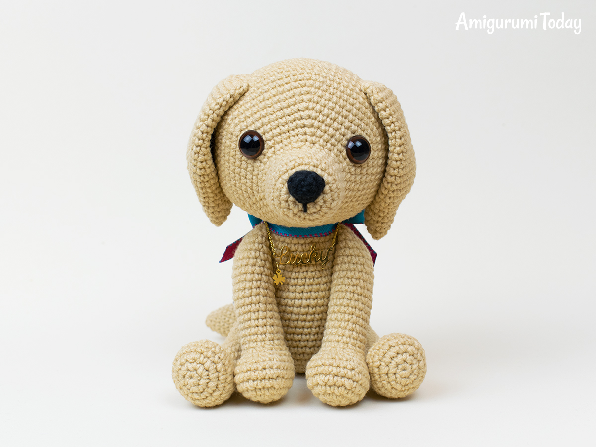 Lucky Puppy crochet pattern by Amigurumi Today