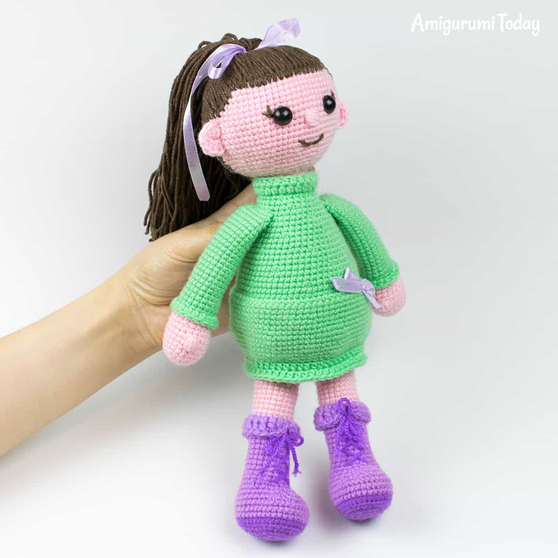 Lulu Doll amigurumi - Free crochet pattern by Amigurumi Today