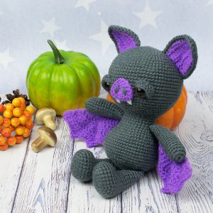 Soft & Dreamy Bat amigurumi pattern 3
