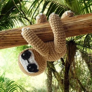 Amigurumi Sloth Crochet Pattern designed by Amigurumi Today