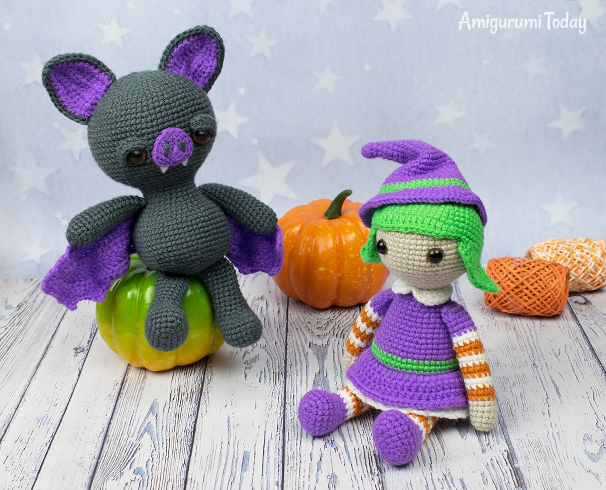 Dreamy Bat Amigurumi - Free Halloween crochet pattern