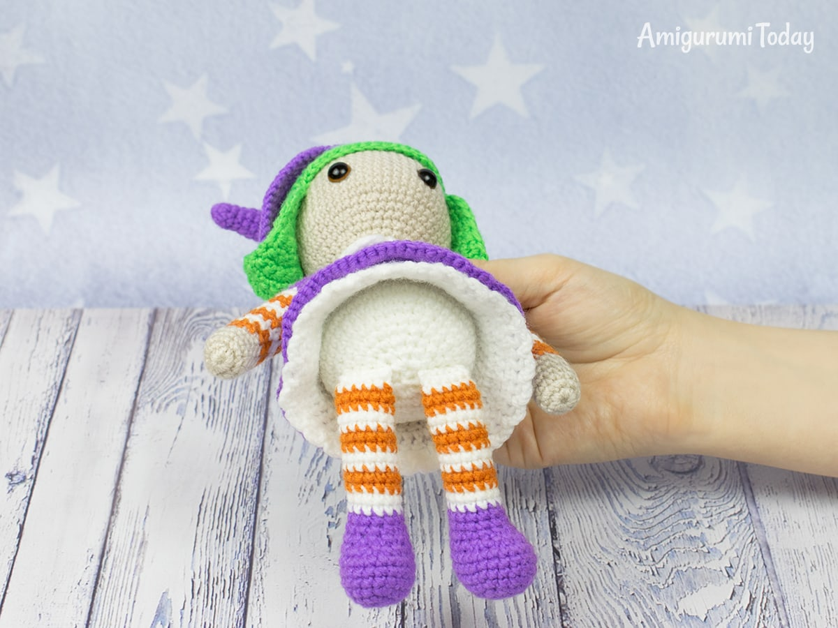 Halloween witch - Free amigurumi pattern by Amigurumi Today
