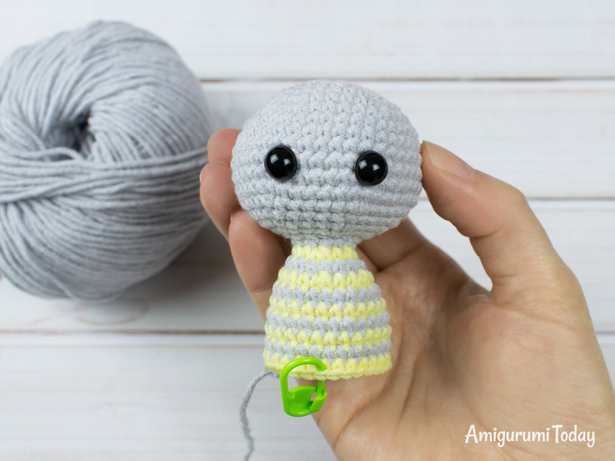 Free crochet animal patterns - Body