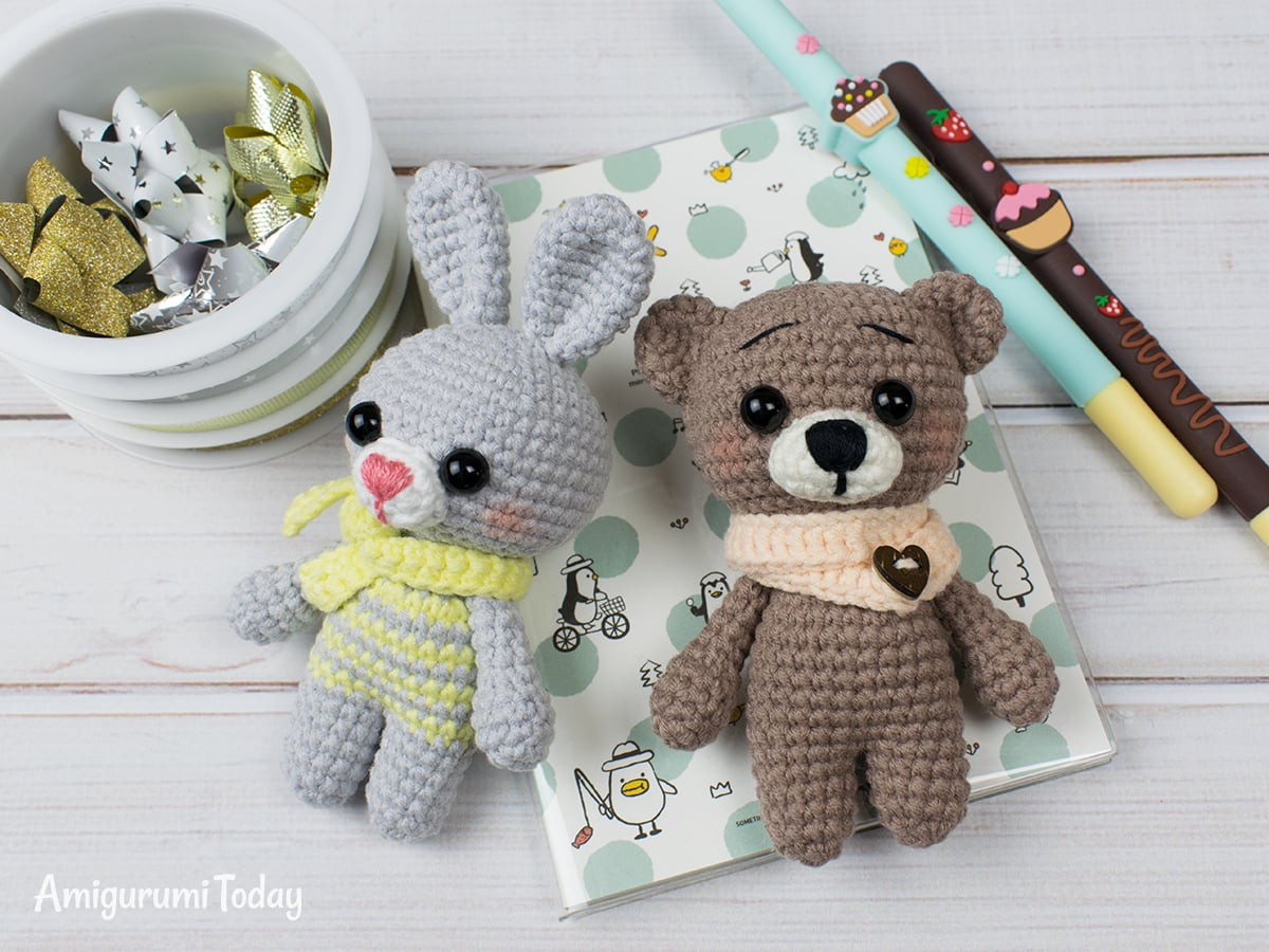 Free crochet animal patterns by Amigurumi Today