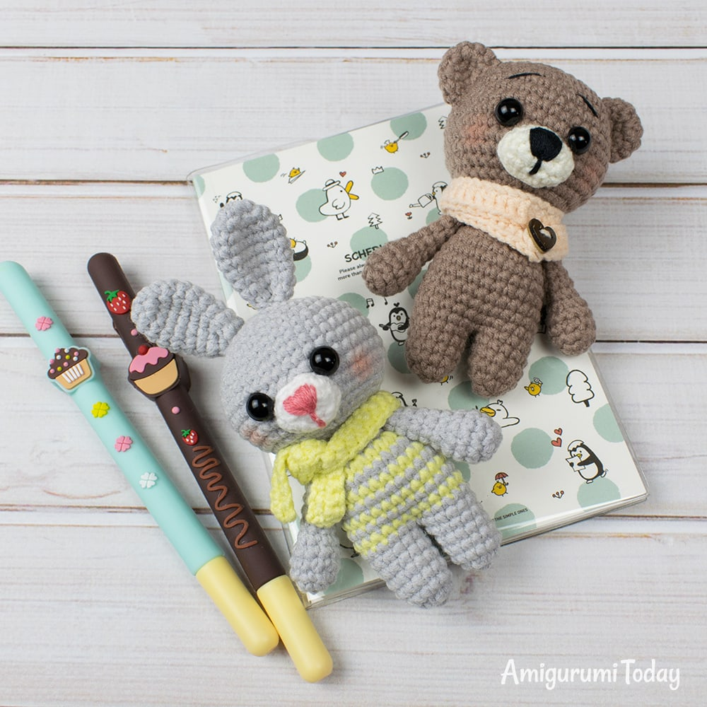 Free easy crochet animal patterns by Amigurumi Today