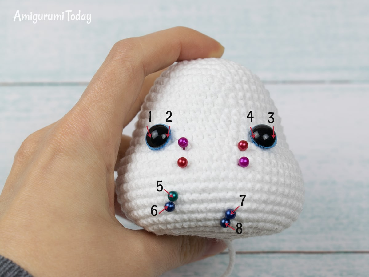 Crochet Eyes Tutorial - An Alternative To Plastic Safety Eyes ... | 900x1200
