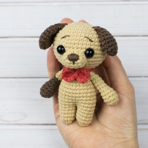 Amigurumi Tiny Puppy - Free crochet pattern by Amigurumi Today