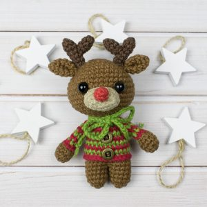 Amigurumi tiny deer - Free crochet pattern by Amigurumi Today