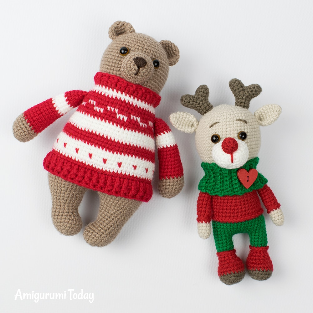 Free crochet Christmas patterns by Amigurumi Today
