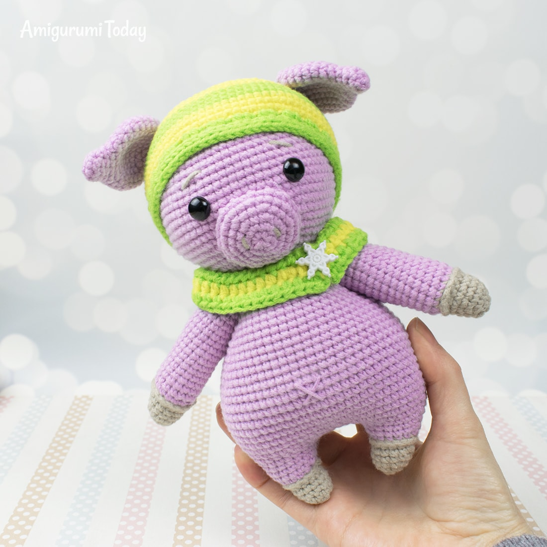 Lucky Pig amigurumi pattern by Amigurumi Today