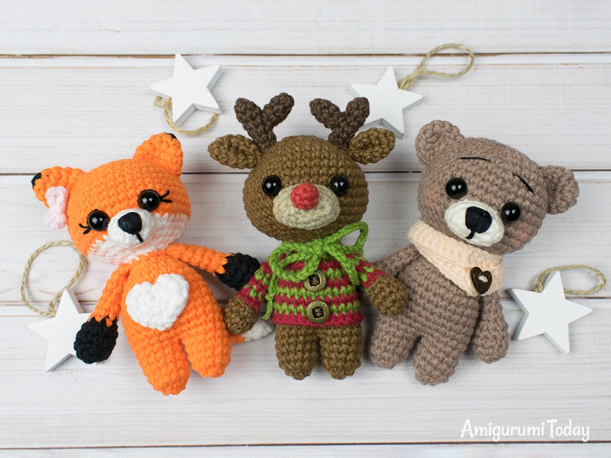 Tiny deer amigurumi designing past times Amigurumi Today Tiny deer amigurumi pattern