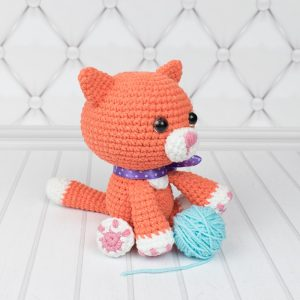 Amigurumi Ginger cat - Free crochet pattern by Amigurumi Today