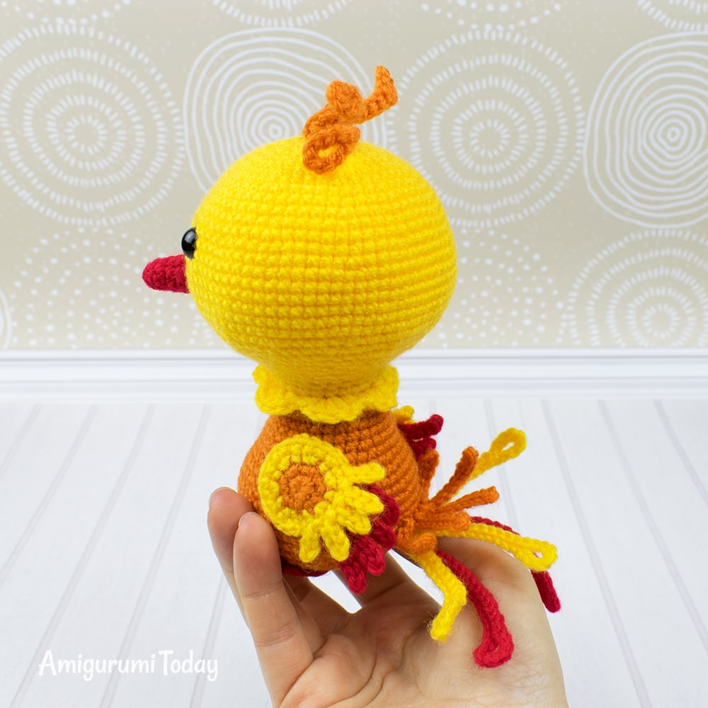 Nixy the Phoenix - Free crochet pattern by Amigurumi Today