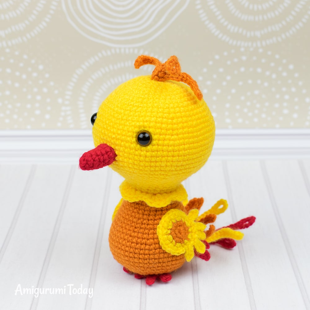 Crochet Phoenix - Free amigurumi pattern by Amigurumi Today