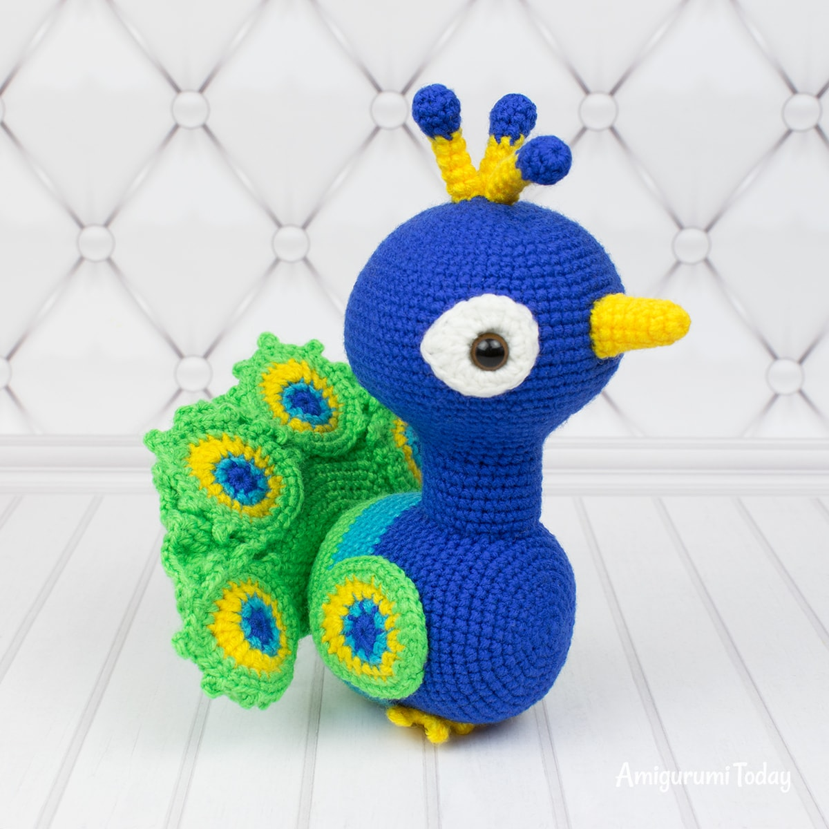 Paco the Peacock - Free crochet pattern by Amigurumi Today