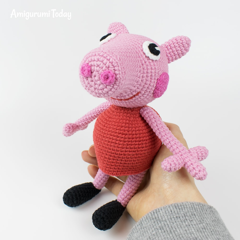 Amigurumi Peppa Pig - Free crochet pattern by Amigurumi Today