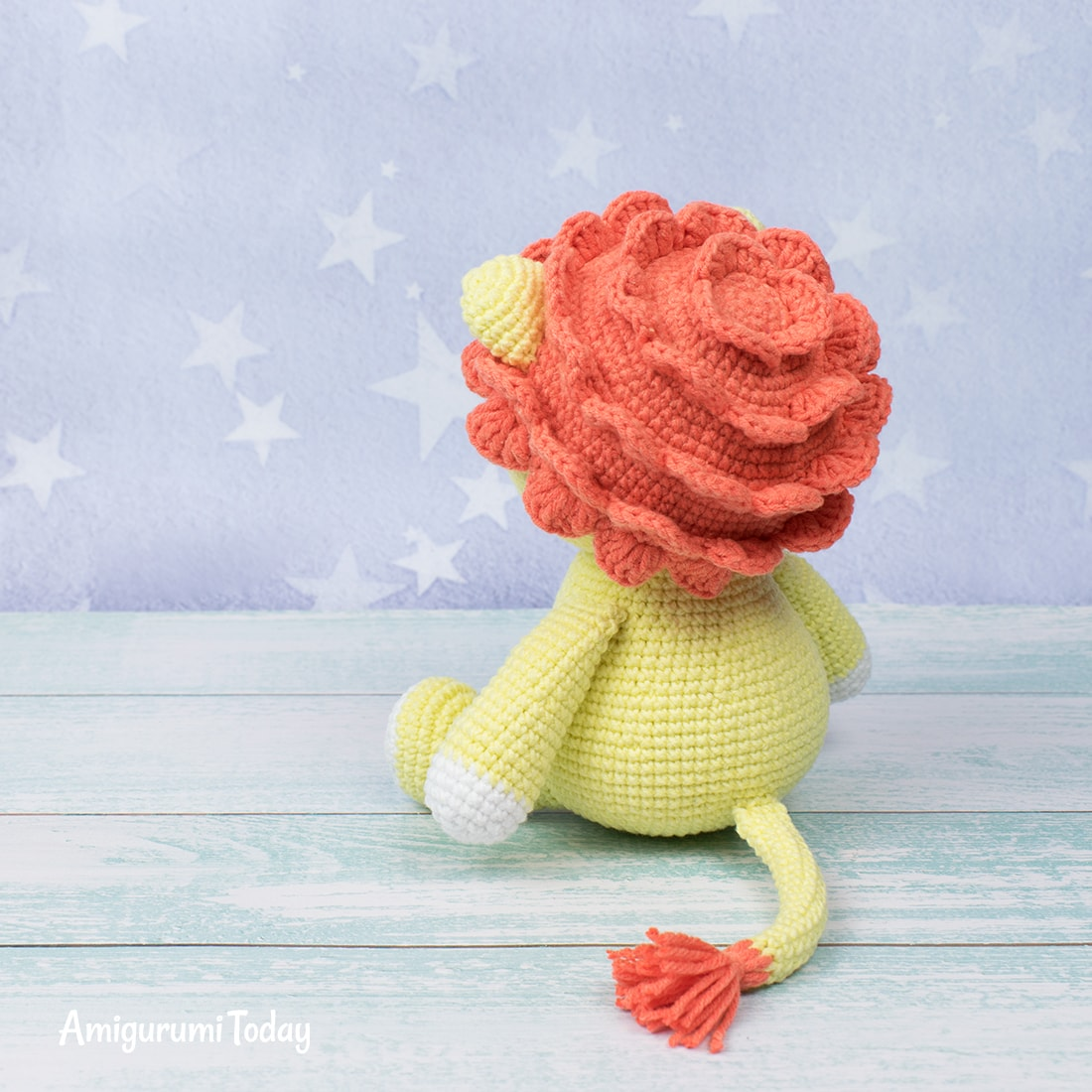 Amigurumi lion - Free crochet pattern by Amigurumi Today