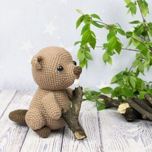 Beaver Amigurumi - Free crochet pattern by Amigurumi Today