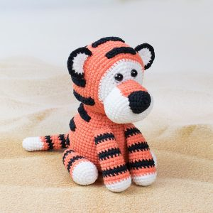 Romeo the Tiger amigurumi pattern 1