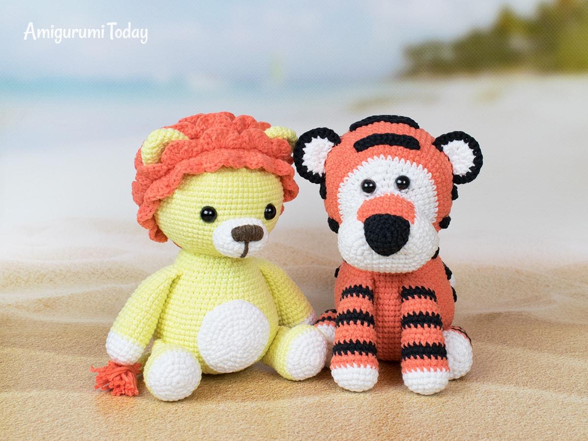 Romeo the Tiger amigurumi pattern