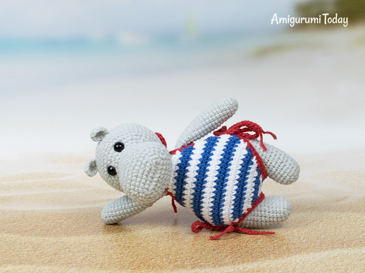 Free Crochet Patterns | Free Crochet Pattern Hippo Amigurumi ... | 900x1200