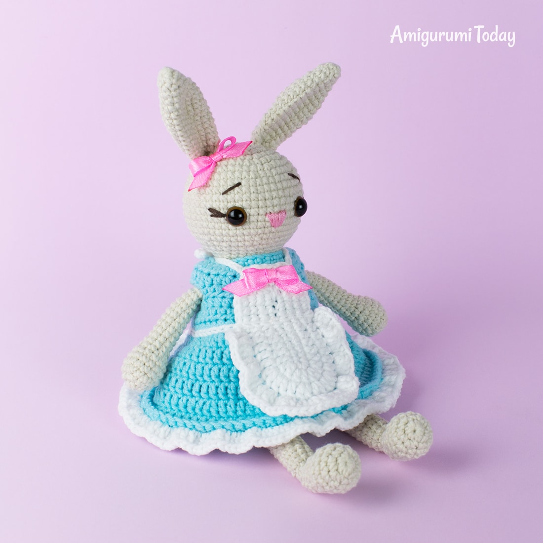 Amigurumi Dutch Rabbits Crochet Pattern | 1100x1100