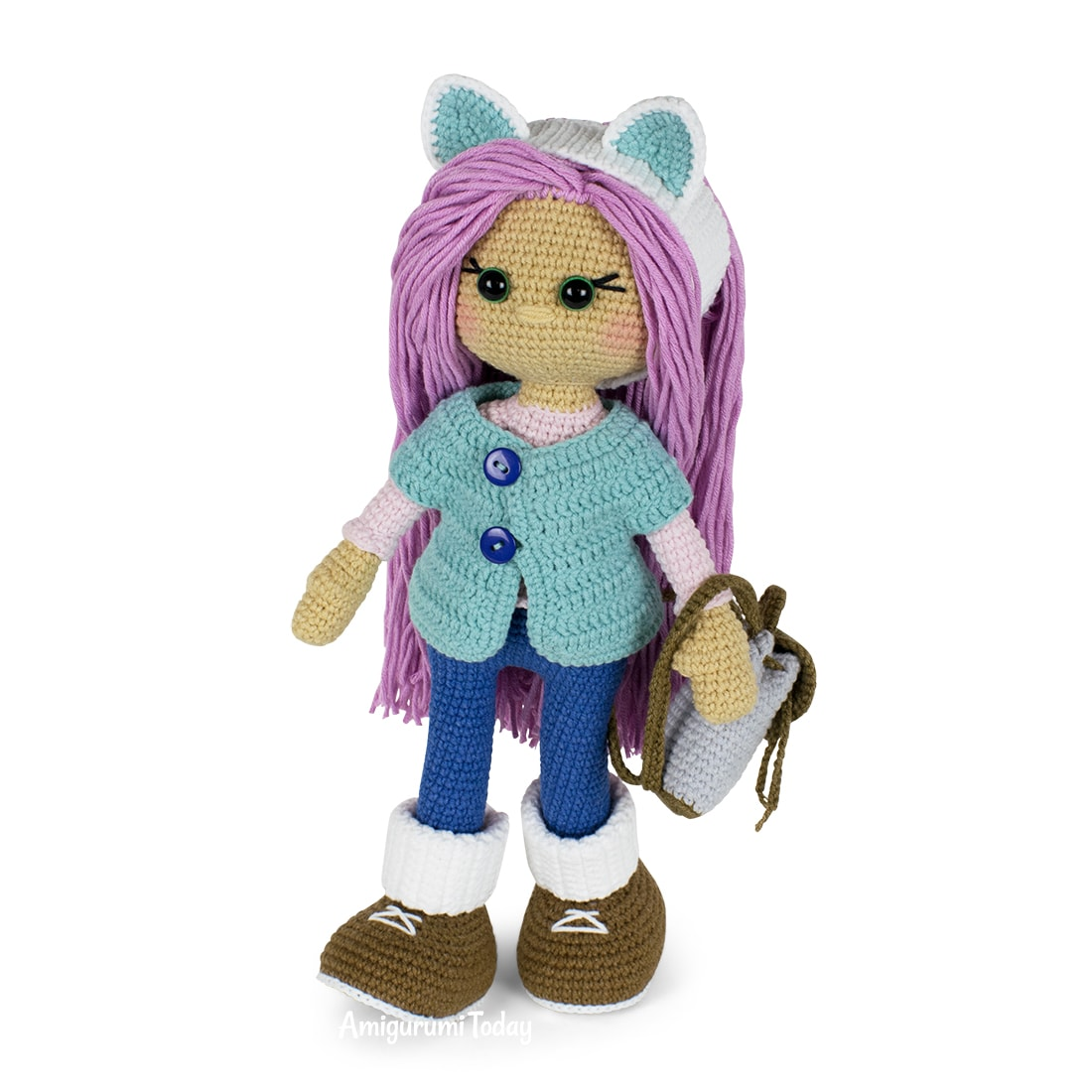 Molly Doll crochet pattern for free