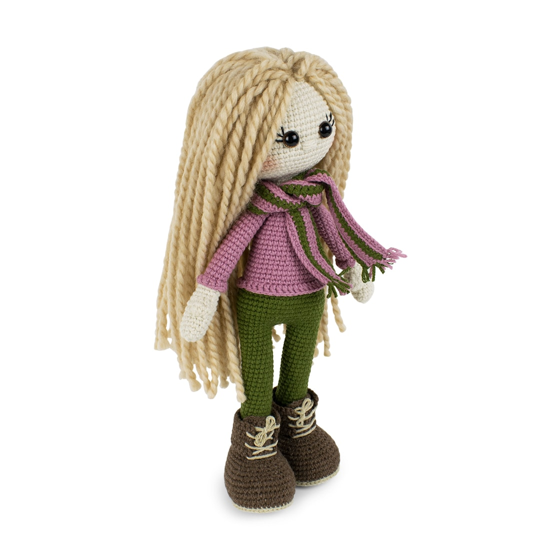 Free Kelly Doll crochet pattern