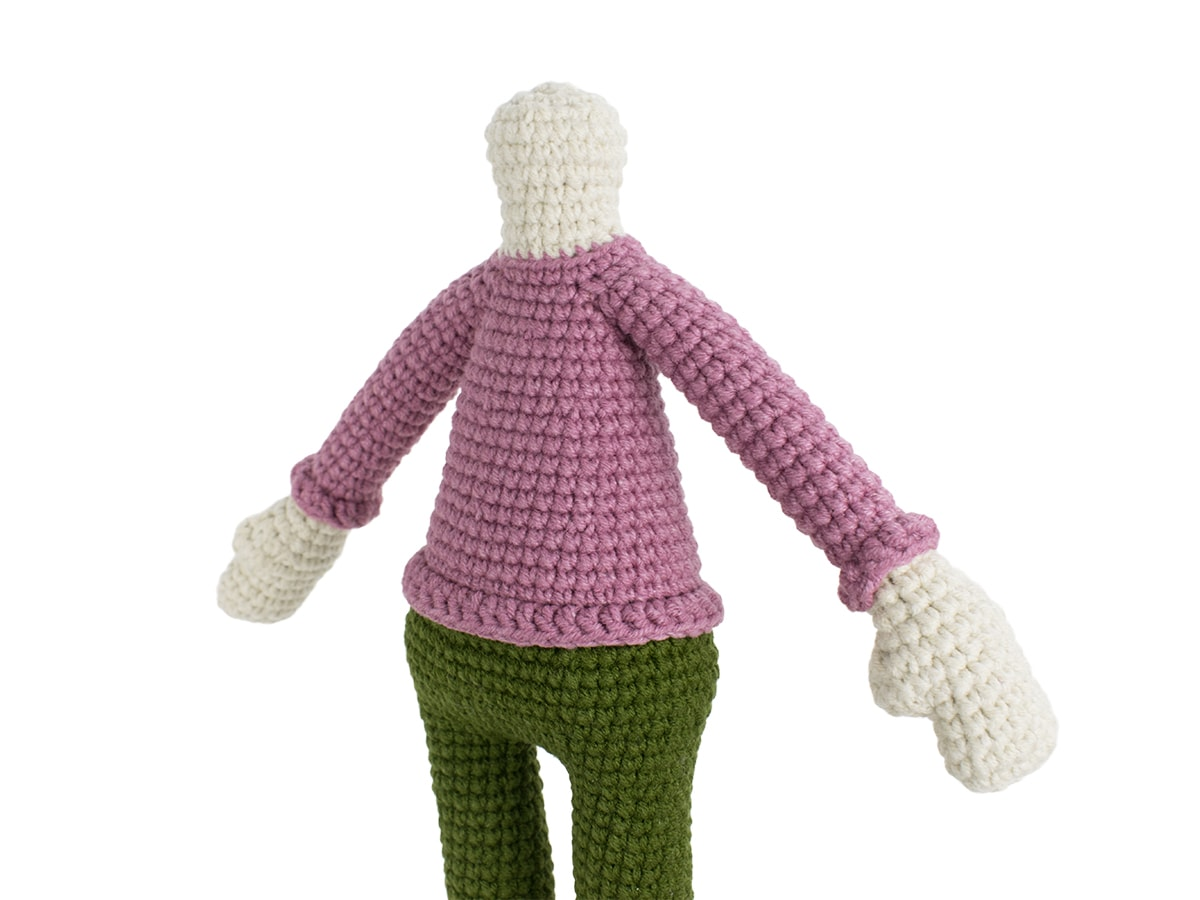Kelly Doll crochet pattern - Arms