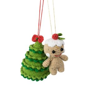 Amigurumi Little Gingerbread Man - Free Christmas Crochet Pattern