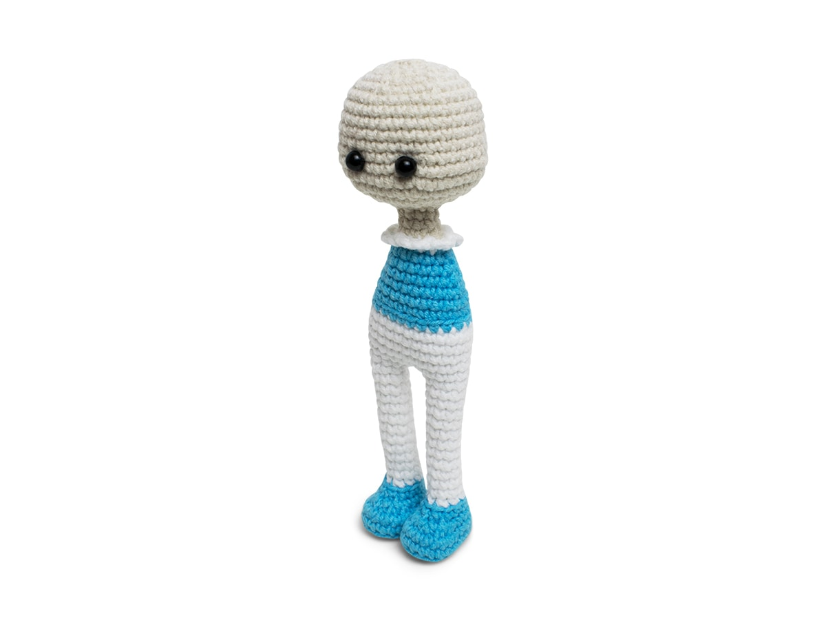 Crochet Lolita Doll amigurumi pattern - Head and body