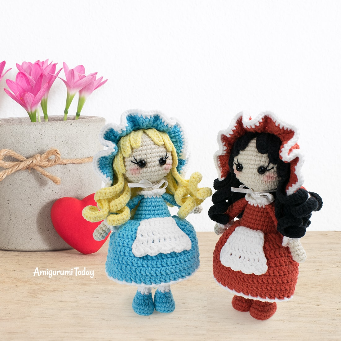 Free Lolita Doll crochet pattern by Amigurumi Today