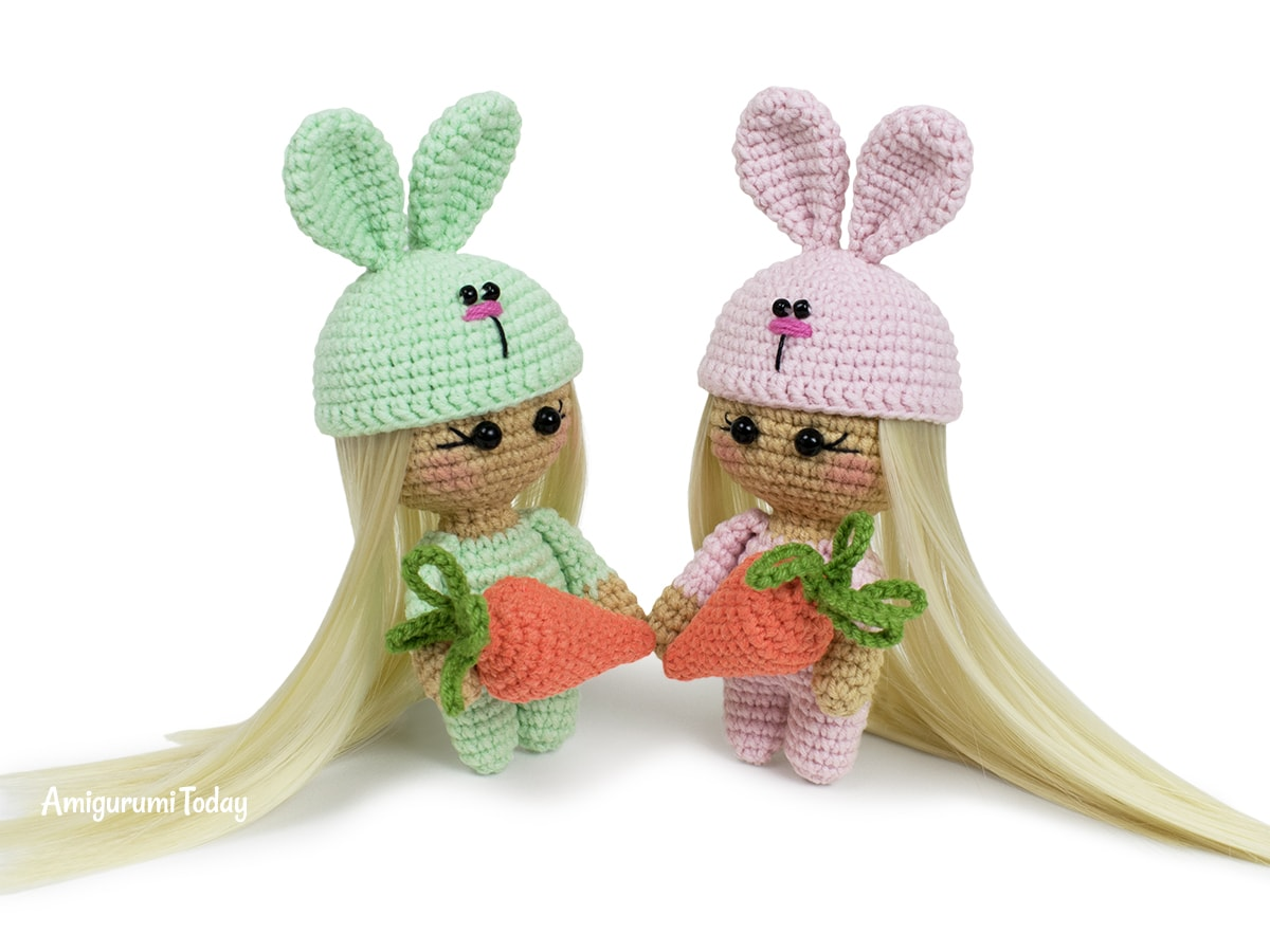 Bunny Doll crochet pattern - Amigurumi Today