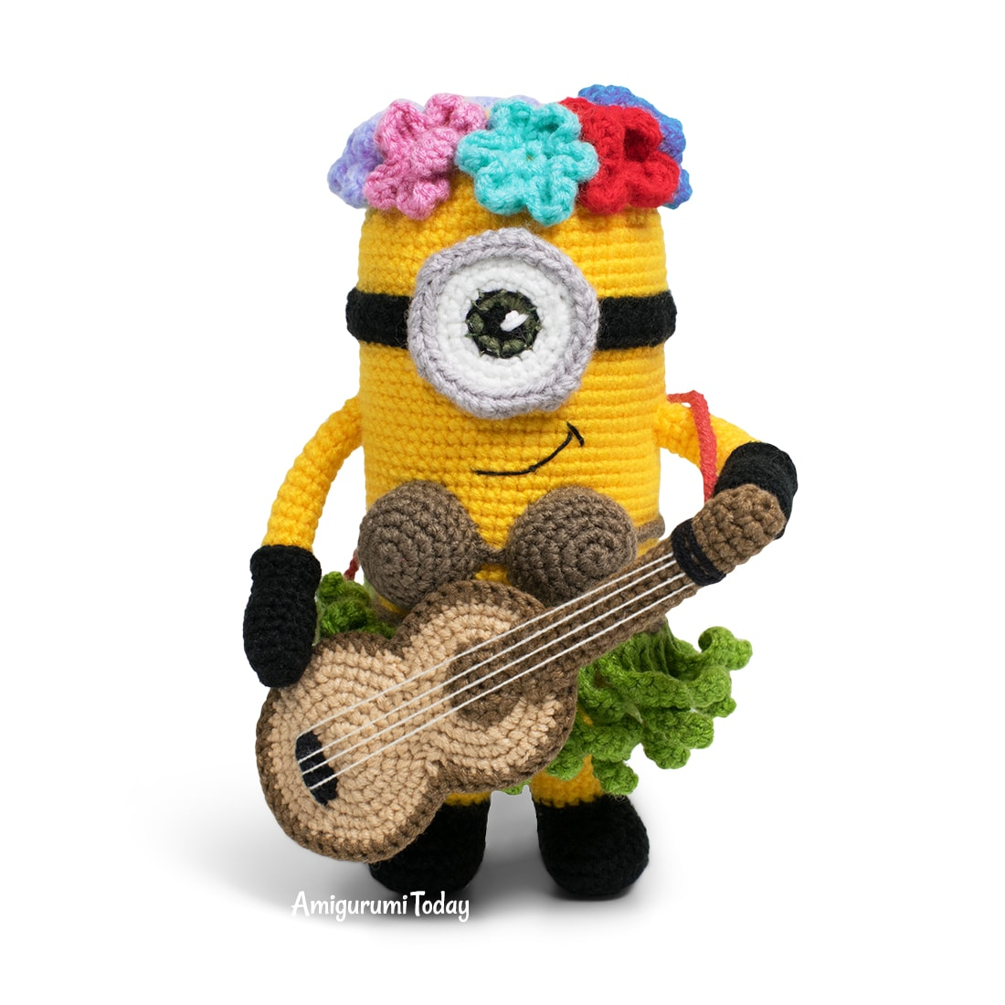 Amigurumi Hawaiian Minion Crochet Pattern by Amigurumi Today