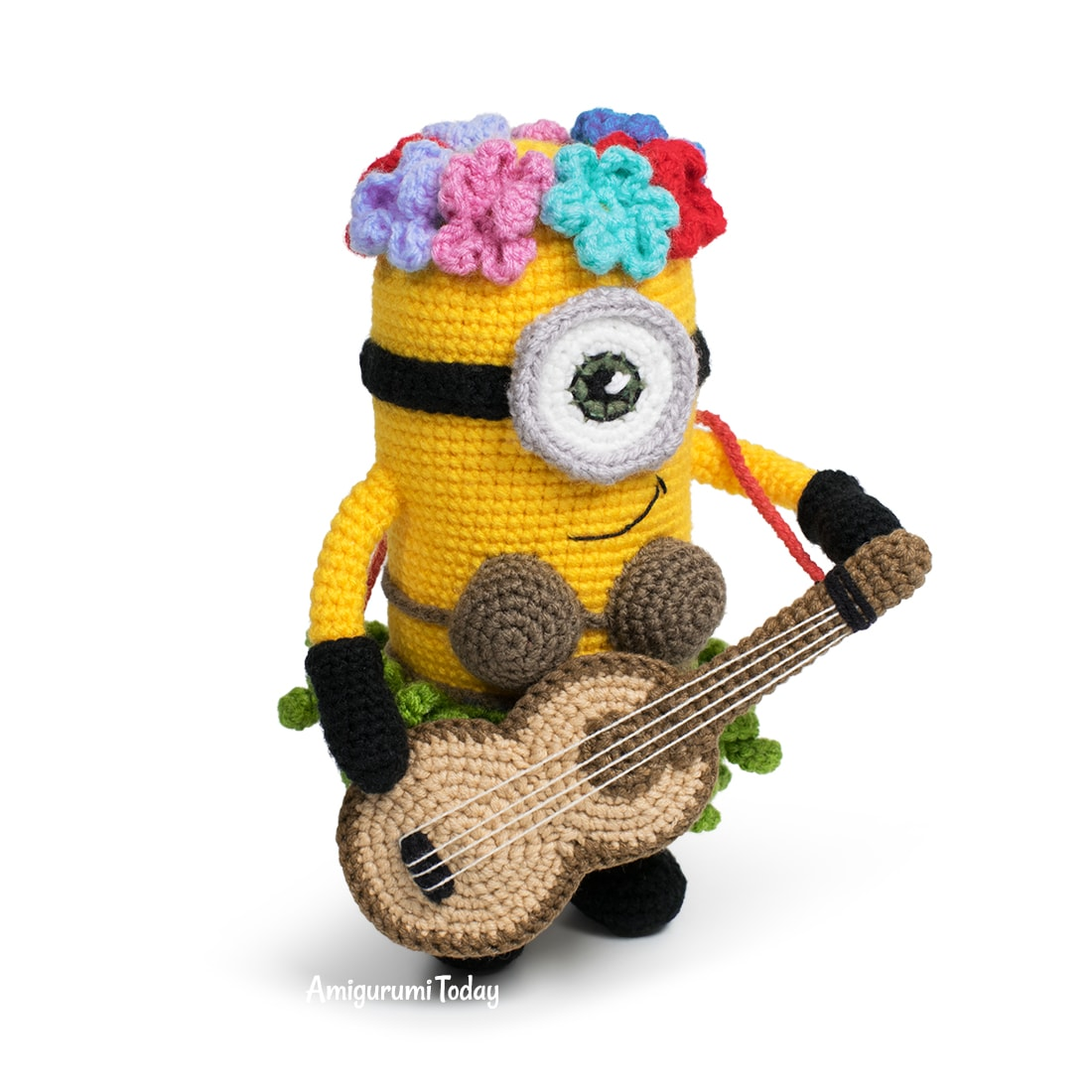 Amigurumi Hawaiian Minion Crochet Pattern