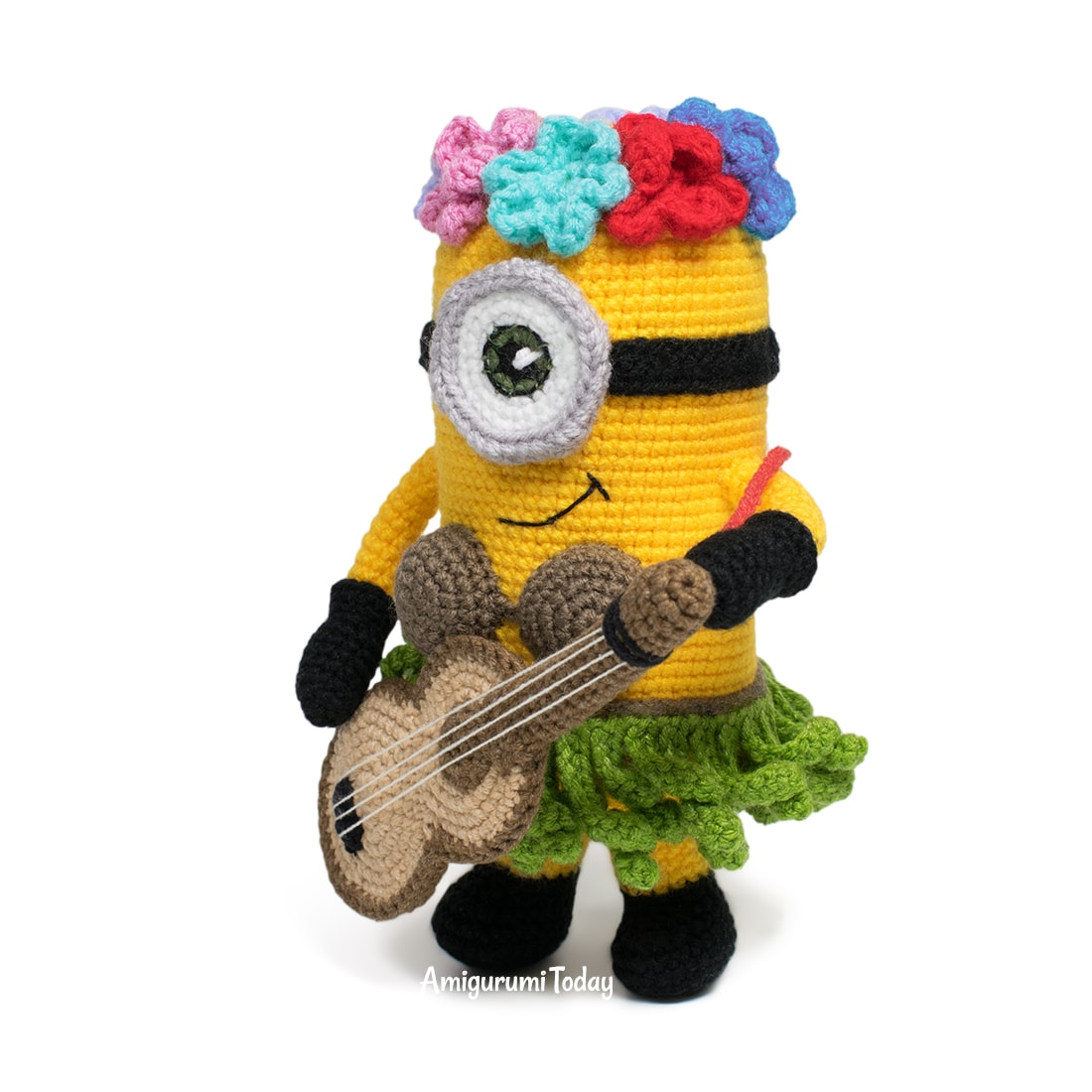 Free Amigurumi Hawaiian Minion Crochet Pattern