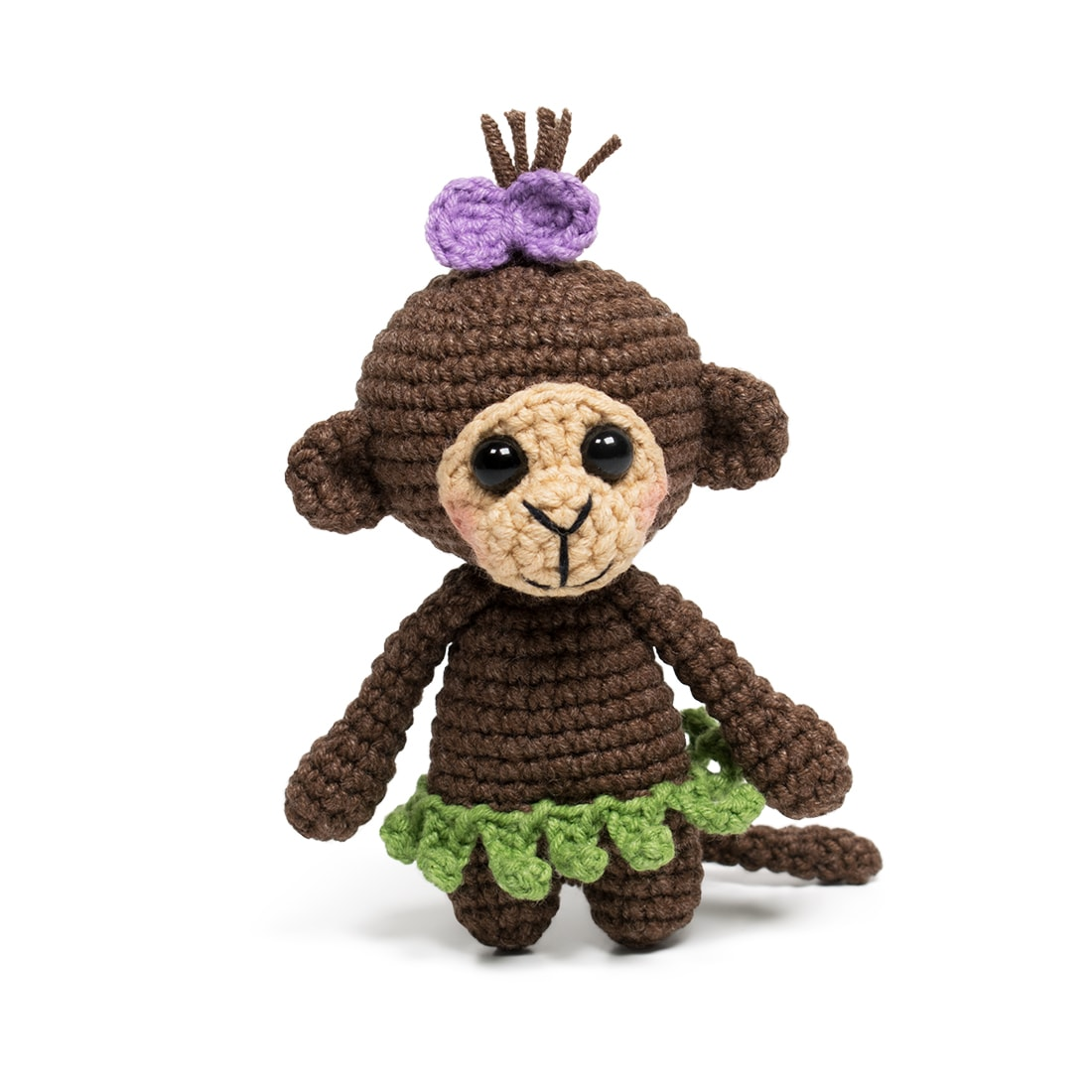 Cheeky Little Monkey Amigurumi Free Crochet Pattern ⋆ Crochet Kingdom | 1100x1100