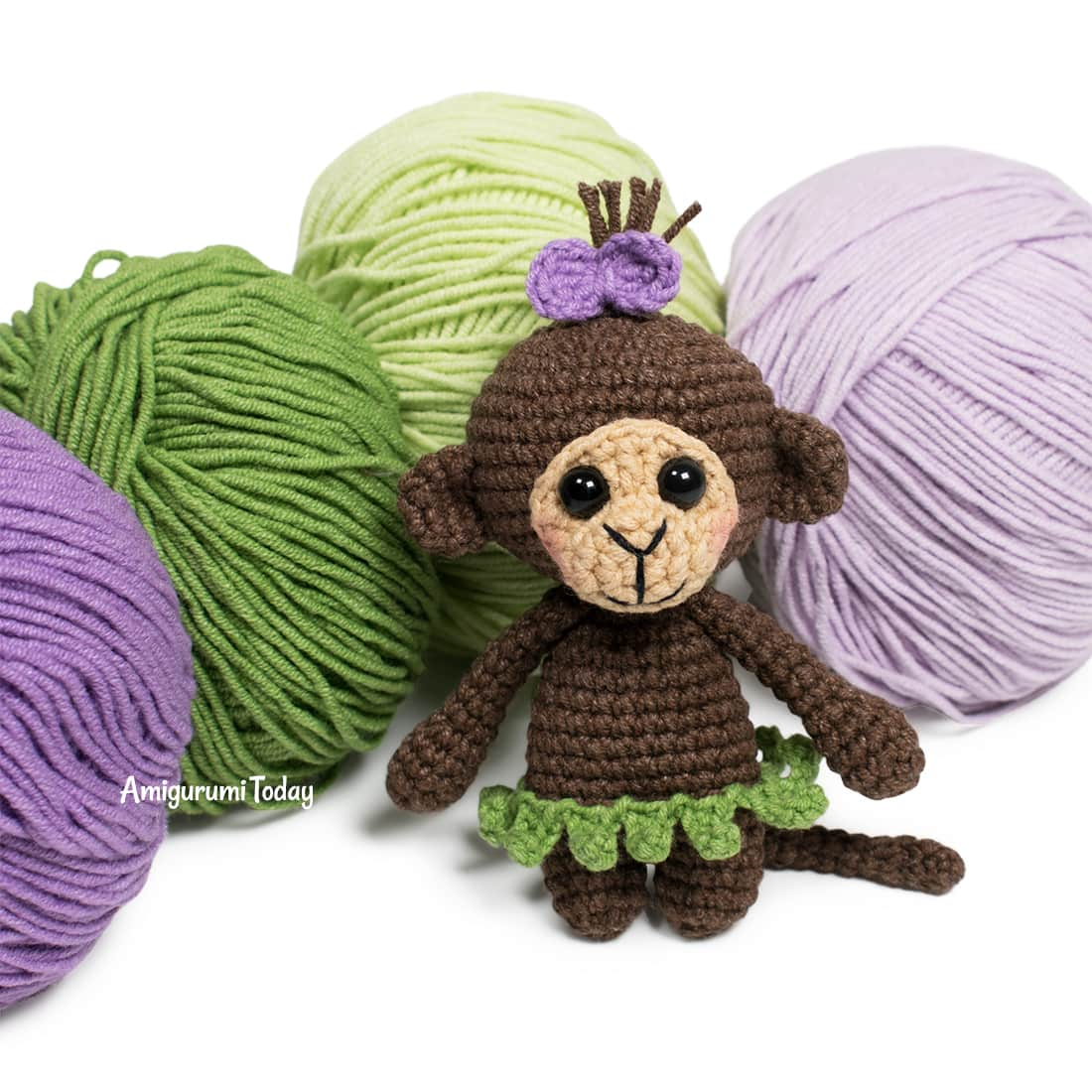 Cuddle Me Monkey amigurumi pattern - Amigurumi Today | 1100x1100