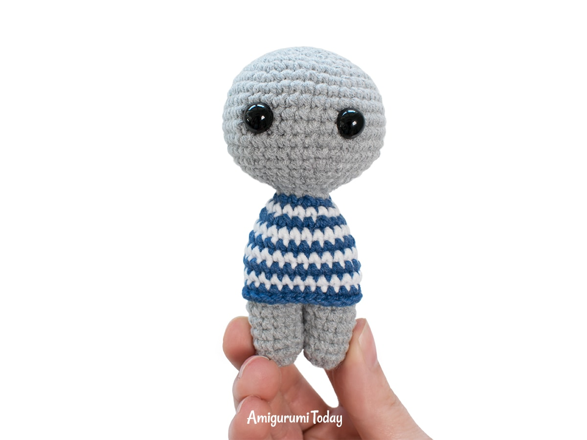 Amigurumi tiny koala crochet pattern - DIY tutorial