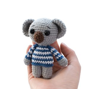 Amigurumi tiny koala crochet pattern - Free tiny crochet animal patterns by Amigurumi Today