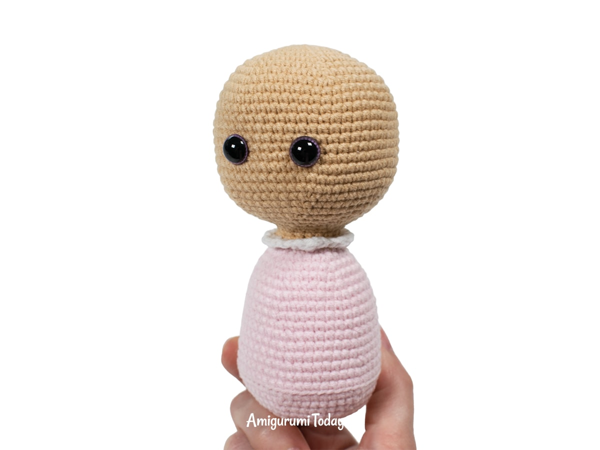 Amigurumi Lolli Bunny crochet pattern - Head and body